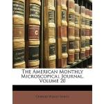 【预订】The American Monthly Microscopical Journal, Volume 20