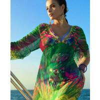 防晒罩衫 泳衣外套比基尼罩衫海边防晒沙滩裙超大裹纱裹裙披纱 支持礼品卡