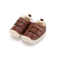 【119元任选2双】迪士尼Disney童鞋男童宝宝鞋秋冬学步鞋运动鞋休闲鞋(0-3岁可选)CE6309