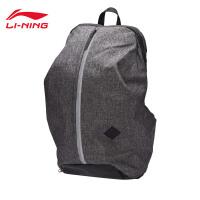 李宁双肩包男包女包运动时尚系列反光背包书包学生运动包ABSM418