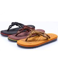 凉拖 女士时尚外穿透气防滑凉鞋2019夏季新款韩版女式情侣人字拖沙滩鞋纯色凉拖鞋