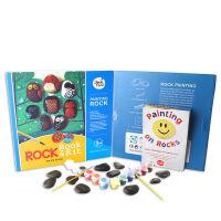 美乐(JoanMiro) 魔法石头套装 儿童DIY创意绘画石头绘画颜料礼盒装