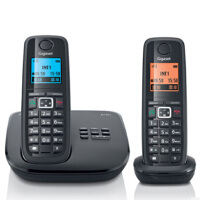 集怡嘉(Gigaset|SIEMENS)【西门子】 E710A套装 数字答录无绳电话机 德国制造 带答录 通话 录音功