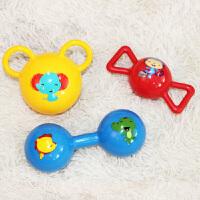 【当当自营】费雪(Fisher Price)儿童玩具球 宝宝健身球 摇铃球套装(三球混装)F0912