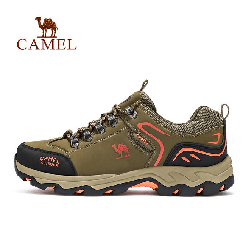 camel骆驼户外男女徒步鞋 情侣防滑耐磨缓震徒步鞋官方正品,七天无理由退换货,59元起包邮