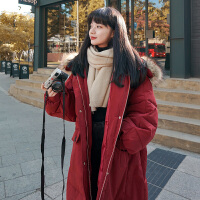 冬季韩版宽松孕后期棉衣孕妇冬装加厚棉袄外套