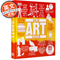 DK艺术百科 英文原版 The Art Book: Big Ideas Simply Explained 进口书 DK