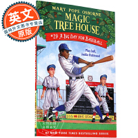 神奇树屋 英文原版 Magic Tree House: A Big Day for Baseball 玛丽波奥斯本 青