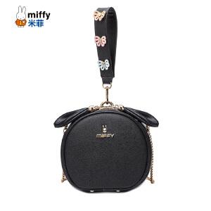 米菲小包包宽带小圆包新款韩版个性手提包潮女包包斜挎包