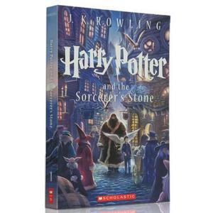 【新到现货】 英文原版 哈利波特与魔法石 Harry Potter and the Sorcerer's Stone  一卷 新版平装