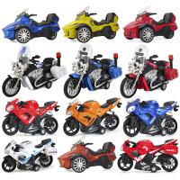 摩托车模型 合金摩托车汽车模型 儿童玩具回力摩托车声光版