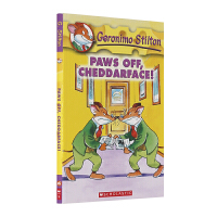 老鼠记者 英文原版 Geronimo Stilton 6: Paws Off, Cheddarface! 走开,干酪面