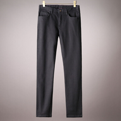 实力产品易穿百搭黑色牛仔裤男士秋冬商务标准版弹力牛仔直筒长裤 黑色 发货周期:一般在付款后2-90天左右发货,具体发货时间请以与客服协商的时间为准