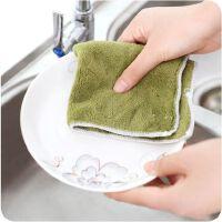 不沾油抹布吸水抹布厨房洗碗布 抹布不掉毛百洁布洗碗巾