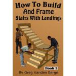 预订 How To Build And Frame Stairs With Landings [ISBN:978151