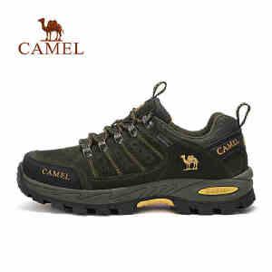 【每满200减100】camel骆驼情侣款徒步鞋 男女防滑低帮时尚徒步鞋