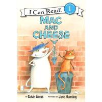 Mac and Cheese I Can Read L1 分级读物绘本 小学生英语启蒙故事书 英文原版绘本