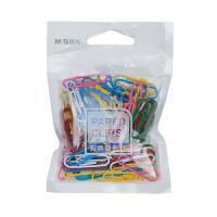 M&G晨光 ABSN2661 袋装彩色回形针100枚 当当自营