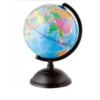 Deli/得力3031地球仪 中英地形 学生用品 教学用品 直径10.6mm