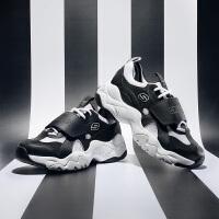 【*注意鞋码对应内长】Skechers斯凯奇男鞋新款D'LITES魔术贴增高鞋熊猫鞋老爹鞋 999107
