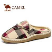 camel 骆驼 情侣款 舒适生活 居家时尚情侣款拖鞋 棉拖鞋