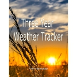 预订 Three Year Weather Tracker [ISBN:9781705341285]