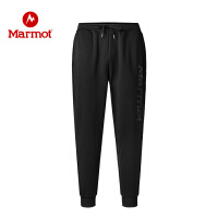 Marmot/土拨鼠男士强力贴肤保暖舒适针织长裤