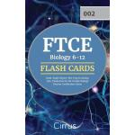 预订 FTCE Biology 6-12 Flash Cards Book: Rapid Review Test Pr