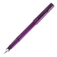 毕加索 PS-618正姿依金笔钢笔 磨砂紫笔杆 笔尖0.5mm 成人商务办公用学生练字书法墨水笔 礼盒装 当当自营