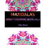 预订 Mandala Adult Coloring Book: 50 Mandala Images Stress Ma