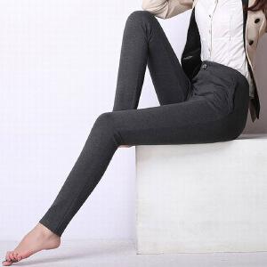 秋冬外穿打底裤长裤女显瘦大码高腰四面弹力铅笔休闲裤女