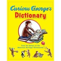 好奇猴乔治 英文原版 廖彩杏书单 儿童绘本 Curious George's Dictionary