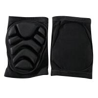 滑冰护膝|护肘儿童|用滑冰护具冰上用品加厚软护膝 黑色