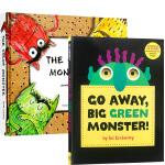【顺丰包邮】英文原版书2册 The Color colour Monster我的情绪小怪兽 Go Away Big G