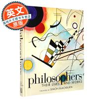 哲学家的生活和工作 英文原版 Philosophers: Their Lives and Works 进口书 DK出版