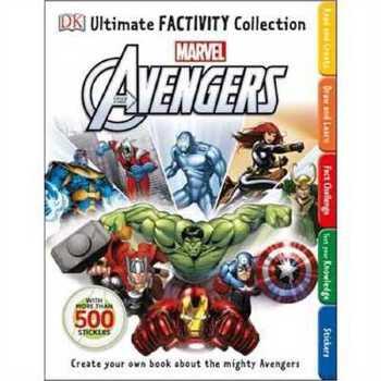 漫威 Marvel The Avengers Ultimate Factivity Collection 2147483647