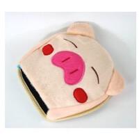 暖手鼠标垫 保暖鼠标垫 可爱加热发热 USB暖手鼠标垫 粉小猪