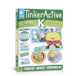 英文原版 TinkerActive Workbooks: Kindergarten Science幼儿园科学练习册 儿