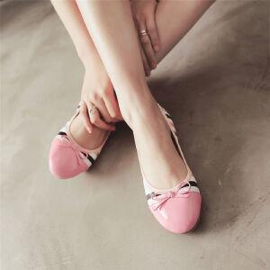 O'SHELL欧希尔新品057-1602韩版平底鞋女士豆豆鞋