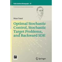【预订】Optimal Stochastic Control, Stochastic Target Problems,