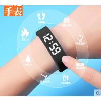 韩国运动儿童智能led手表手环电子表女学生数字式手腕计步器男孩