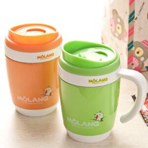 日本泰福高儿童保温杯儿童吸管水杯带提绳男女宝宝便携防漏杯子