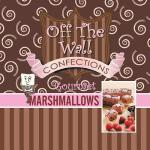 预订 Off the Wall Gourmet Marshmallows [ISBN:9781496949356]