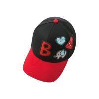 戴维贝拉童装春季新款男女中大童棒球帽子鸭舌帽DBK8747