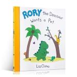 【中商原版】恐龙罗里想要一只宠物 英文原版Rory the Dinosaur Wants a Pet (Interna