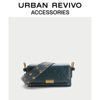 URBAN REVIVO2021春夏新品女士配件做旧纹理斜挎包AW15TB4N2000