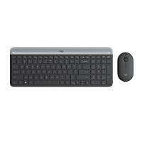【全国大部分地区包邮】罗技(Logitech)MK470 全尺寸无线键鼠套装 超薄家用办公台式机笔记本电脑键盘鼠标套装