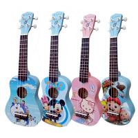 尤克里里UKULELE小四弦琴乌克丽丽 21寸小吉他多彩萌图小吉他 21寸