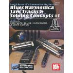 预订 Blues Harmonica Jam Tracks & Soloing Concepts #1 [ISBN:9