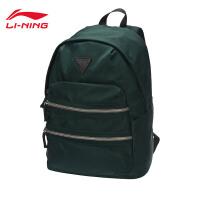 李宁双肩包男包女包运动时尚系列背包书包学生运动包ABSM416